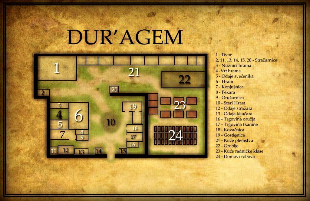 Poglavlja 16-20 knjige Mord Dur'agemski, knjige druge Ciklusa Crnih Knjiga
